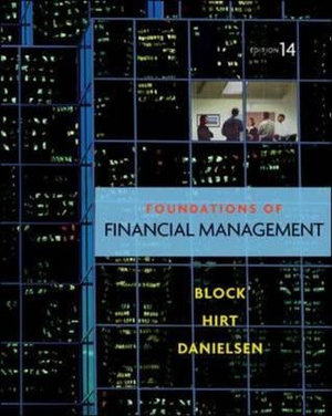 Cover of Foundations of Financial Management with Time Value of Money card