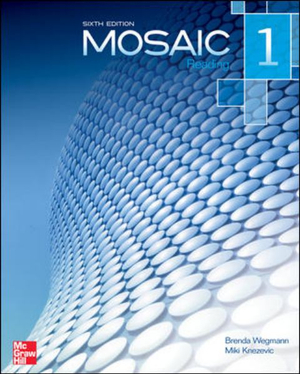 Cover of Mosaic Level 1 Reading Student Book