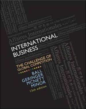 Cover of MP International Business with CESIM Global Challenge Simulation Access Card