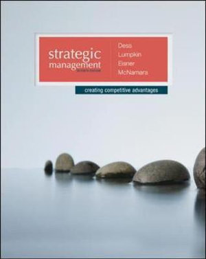 Cover of Strategic Management: Creating Competitive Advantages