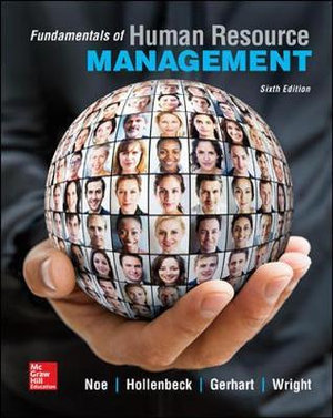 Cover of Fundamentals of Human Resource Management