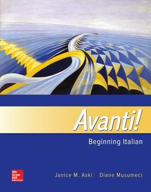 Cover of Avanti!