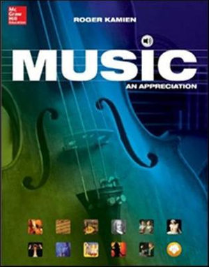 Cover of Music: An Appreciation, Brief Edition