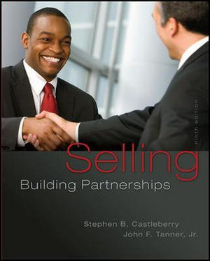 Cover of Selling: Building Partnerships
