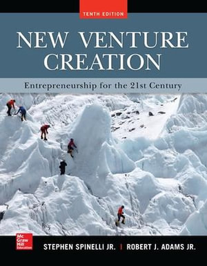 Cover of New Venture Creation