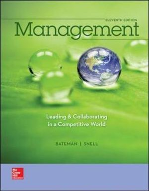 Cover of Management: Leading & Collaborating in a Competitive World