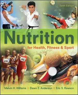 Cover of Nutrition for Health, Fitness & Sport