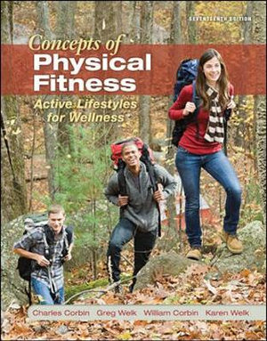 Cover of LL Concepts of Physical Fitness: Active Lifestyles for Wellness