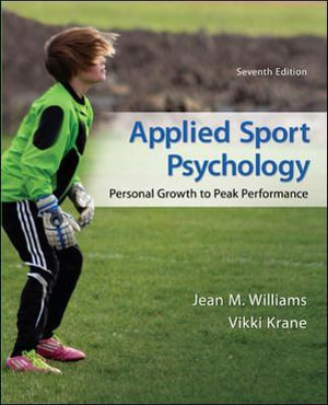Cover of Applied Sport Psychology: Personal Growth to Peak Performance