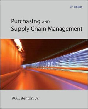 Cover of Purchasing and Supply Chain Management