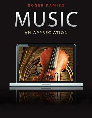 Cover of Music: An Appreciation