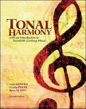 Cover of Tonal Harmony