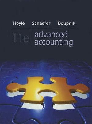 Cover of Advanced Accounting