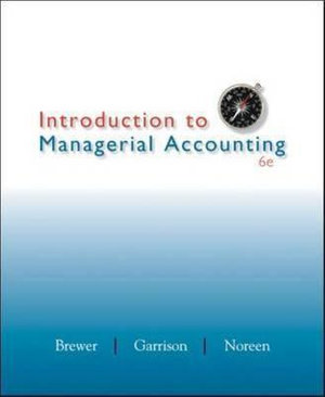 Cover of Introduction to Managerial Accounting