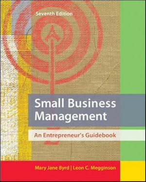 Cover of Small Business Management: An Entrepreneur's Guidebook