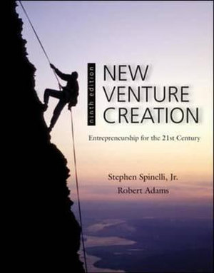 Cover of New Venture Creation: Entrepreneurship for the 21st Century