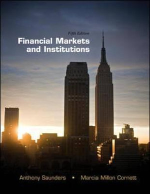 Cover of Financial Markets and Institutions