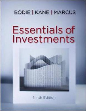Cover of Essentials of Investments