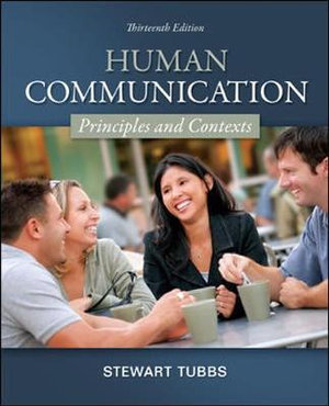 Cover of Human Communication: Principles and Contexts