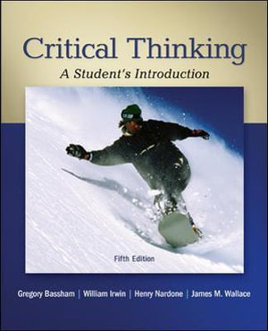 Cover of Critical Thinking: A Student's Introduction