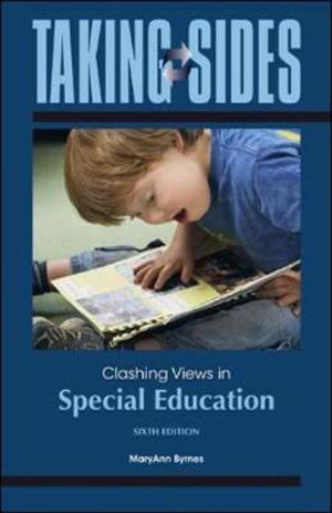 Cover of Taking Sides: Clashing Views in Special Education