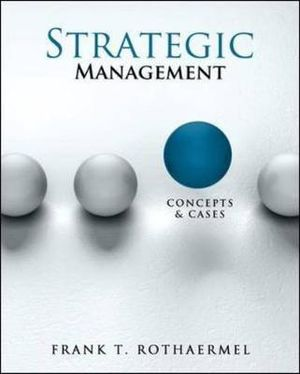 Cover of Strategic Management: Concepts and Cases
