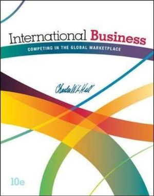 Cover of International Business: Competing in the Global Marketplace