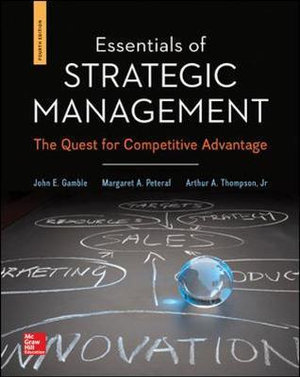 Cover of Essentials of Strategic Management: The Quest for Competitive Advantage