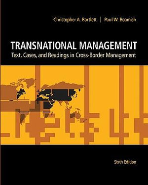 Cover of Transnational Management: Text, Cases and Readings in Cross-Border Management