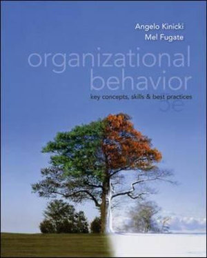 Cover of Organizational Behavior: Key Concepts, Skills & Best Practices