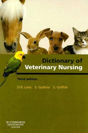 Cover of Dictionary of Veterinary Nursing