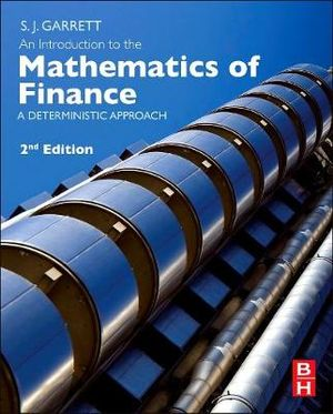 Cover of An Introduction to the Mathematics of Finance