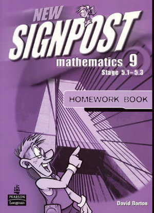 Cover of New Signpost Mathematics 9