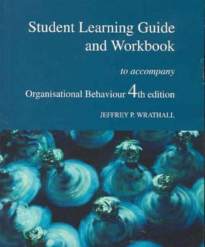 Cover of Student Learning Guide and Workbook