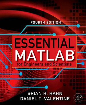 Cover of Essential Matlab for Engineers and Scientists