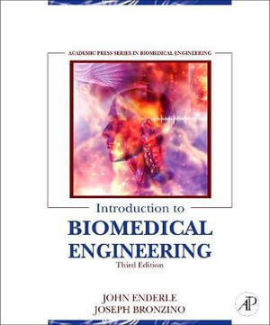 Cover of Introduction to Biomedical Engineering, 3e