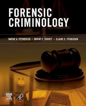 Cover of Forensic Criminology