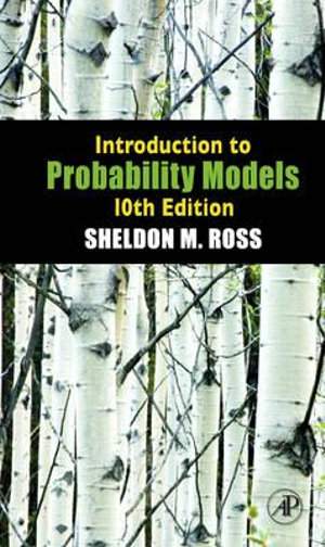 Cover of Introduction to Probability Models 10th Edition