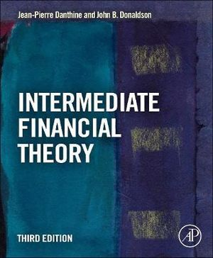 Cover of Intermediate Financial Theory