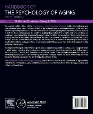 Cover of Handbook of the Psychology of Aging