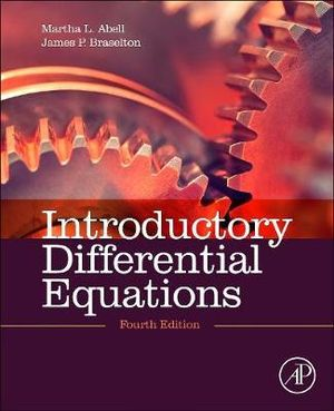Cover of Introductory Differential Equations