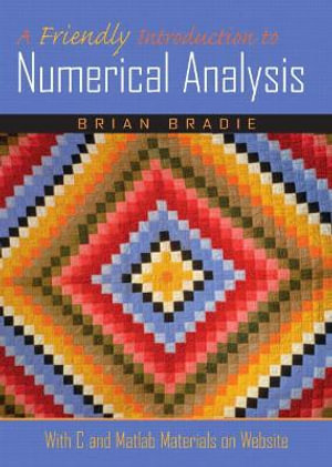 Cover of A Friendly Introduction to Numerical Analysis