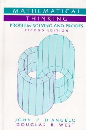 Cover of Mathematical Thinking