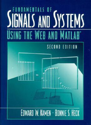 Cover of Fundamentals of signals and systems