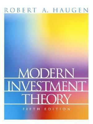 Cover of Modern Investment Theory *Arp          C