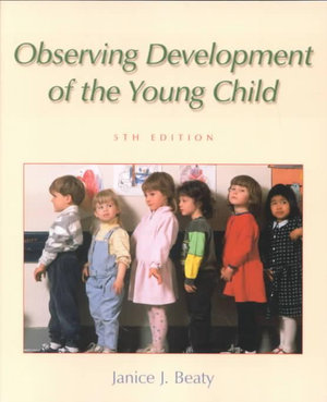 Cover of Observing Development of the Young Child