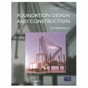 Cover of Foundation Design and Construction