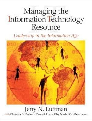 Cover of Manag Info Tech Resrc:Leadershp in Info Age