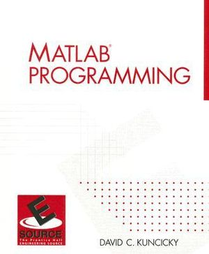 Cover of Matlab Programming