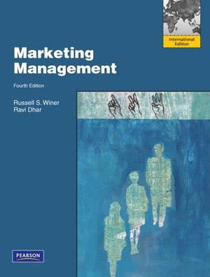 Cover of Marketing Management Pearson International Edition
